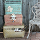 Shabby chic décor has an elegant, timeless appeal –and is ideal for many formal events.